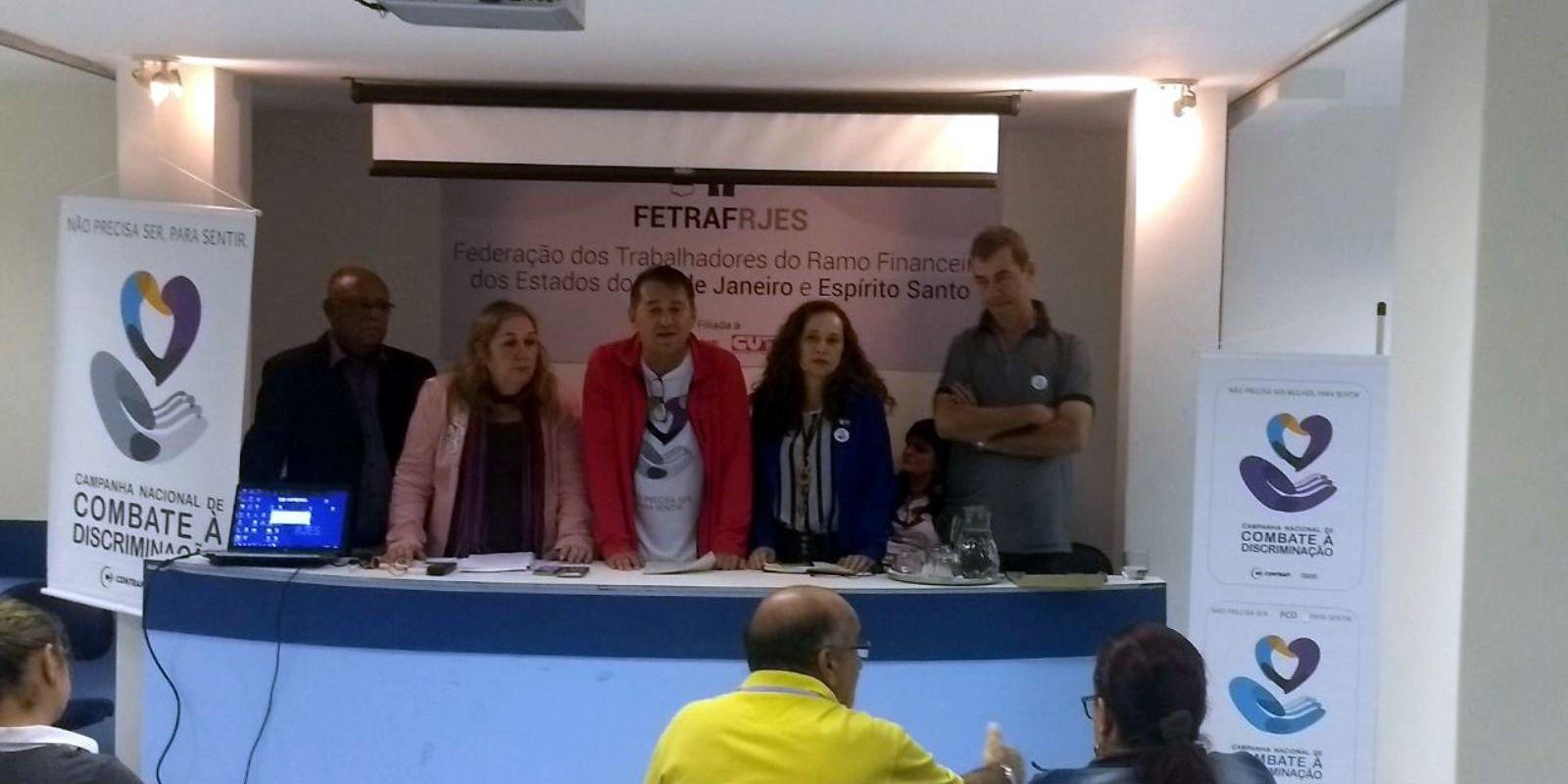 Campanha contra a discriminação é lançada no Rio de Janeiro