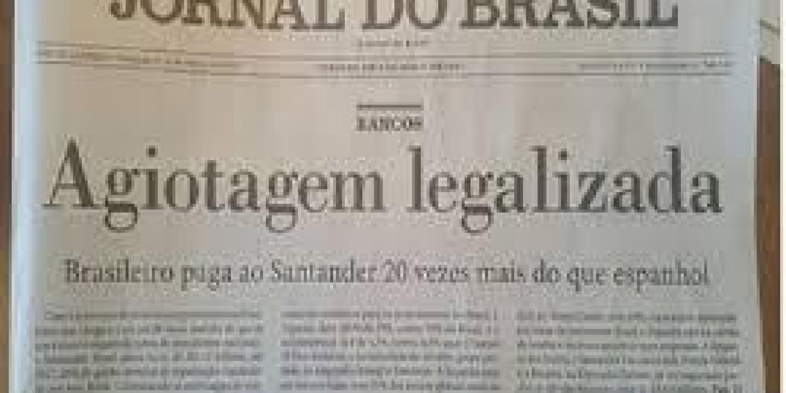 Brasileiro paga ao Santander mais que Espanhol
