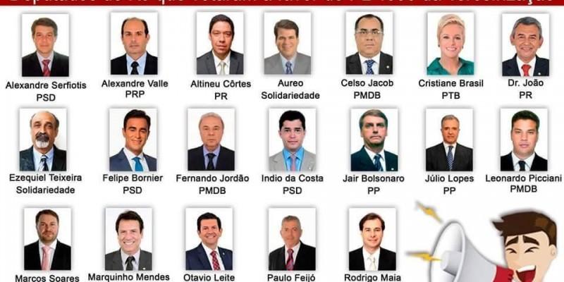 Conheça os deputados que votarão o PL 4330 da Terceirização