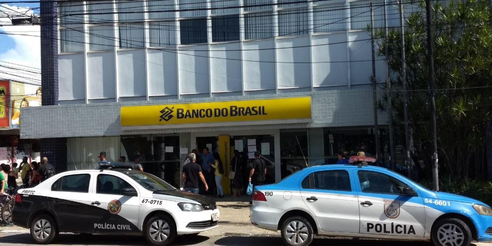 Agência do Banco do Brasil do centro de Macaé, sofre assalto