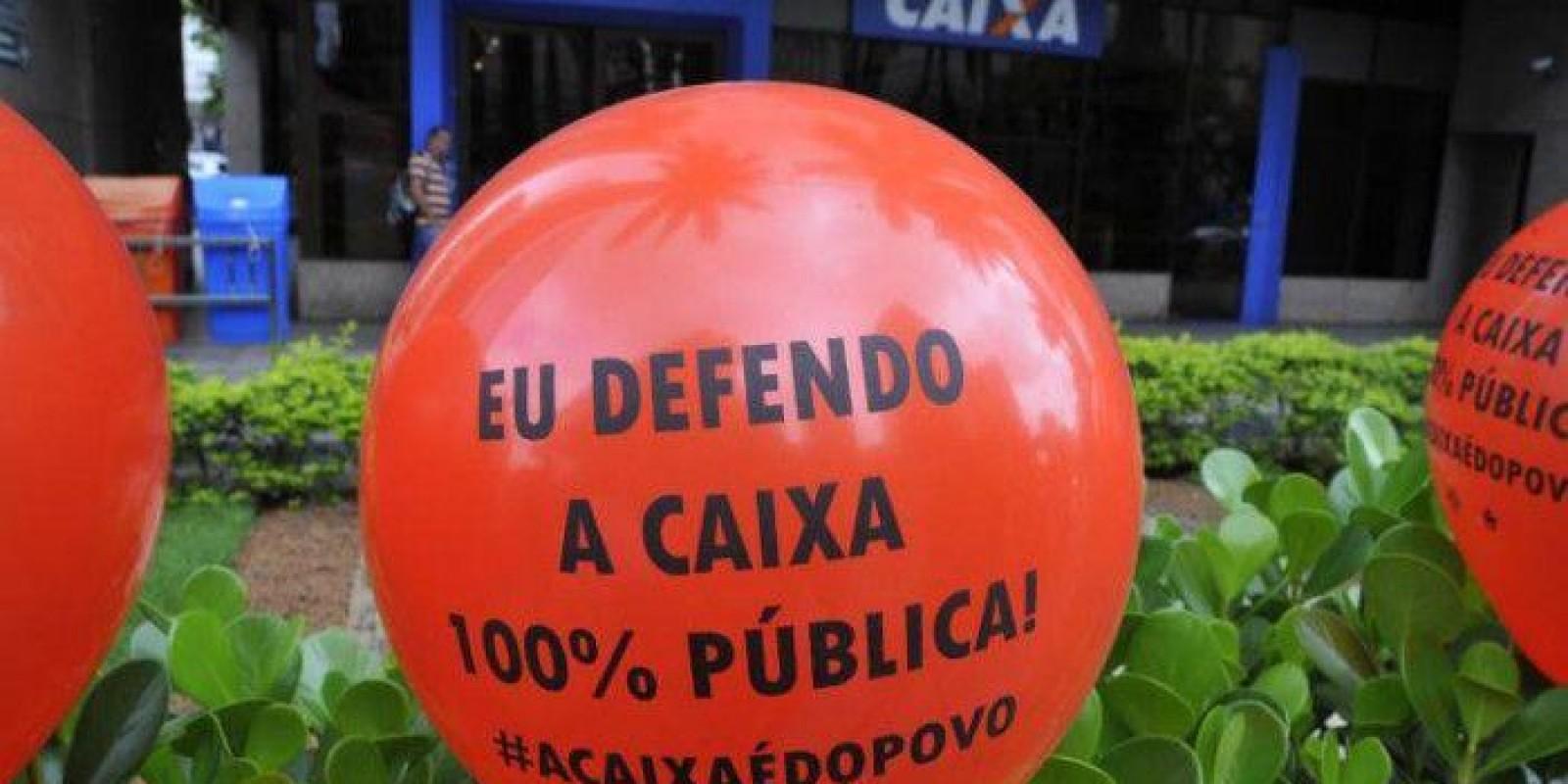 Privatização ameaça Caixa e Banco do Brasil