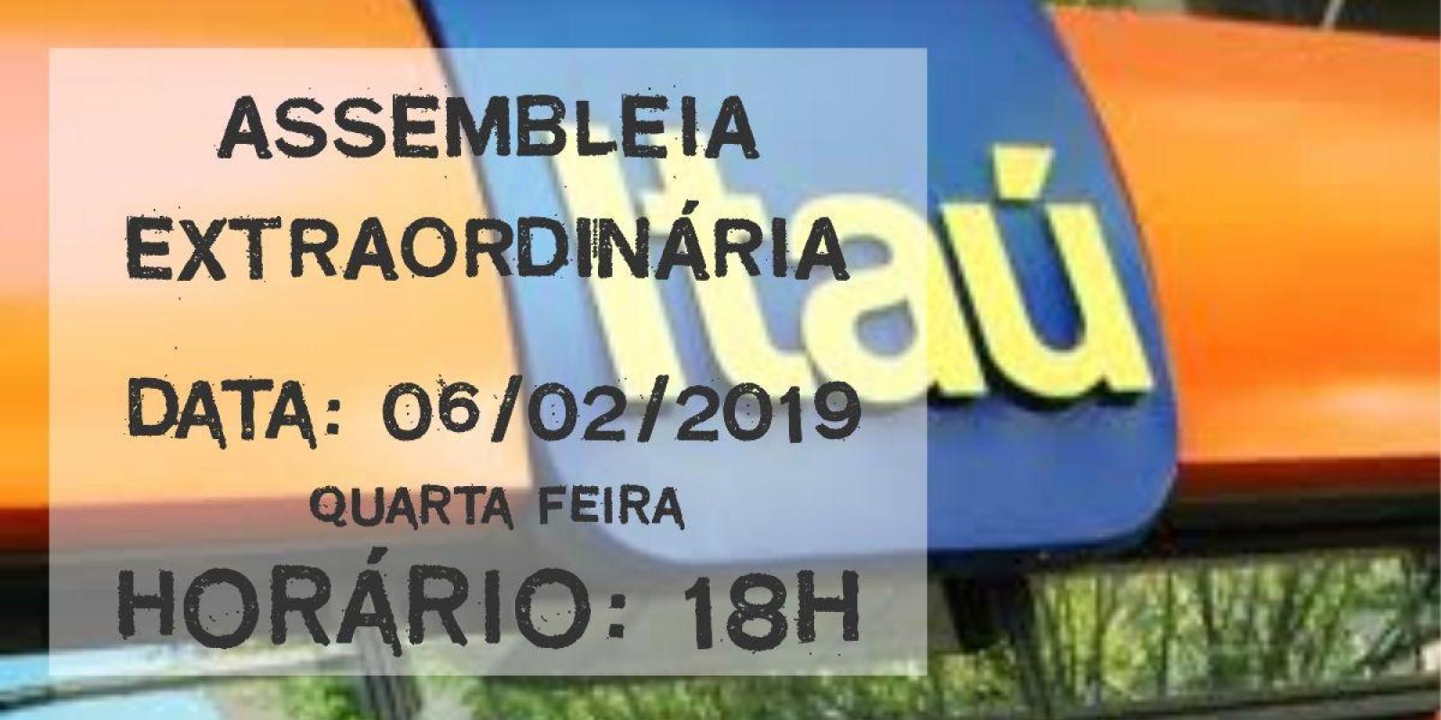 Assembleia Geral Extraordinária - CCV Itaú Unibanco