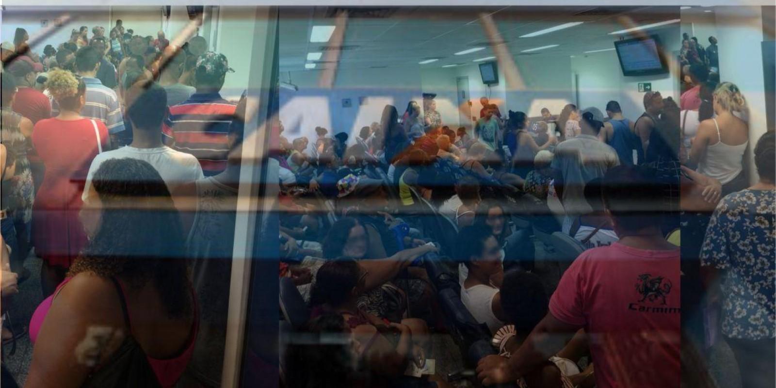 Atendimento deficitário em agência da Caixa, vem causando problemas a população e adoecimento de seus funcionários