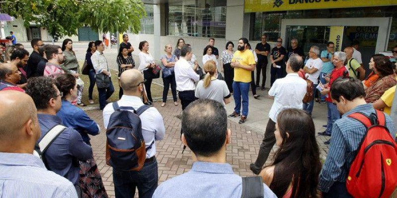 Bancários do BB realizam Dia Nacional de Luta contra os descomissionamentos