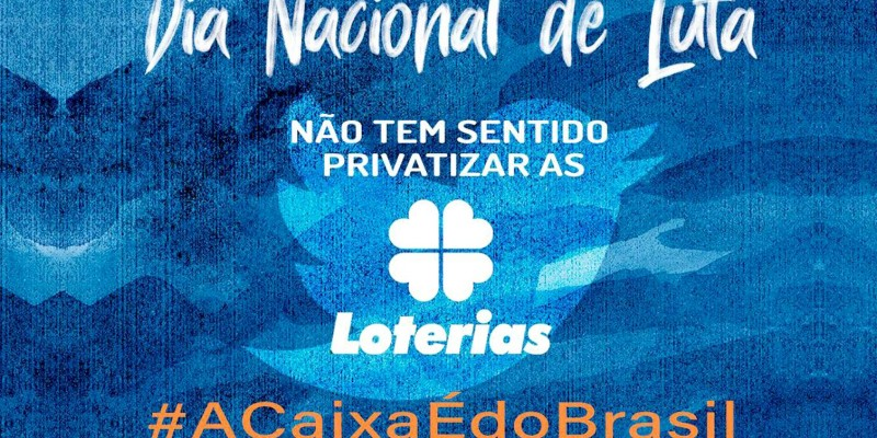 Empregados vestem preto por todo o Brasil contra fatiamento da Caixa