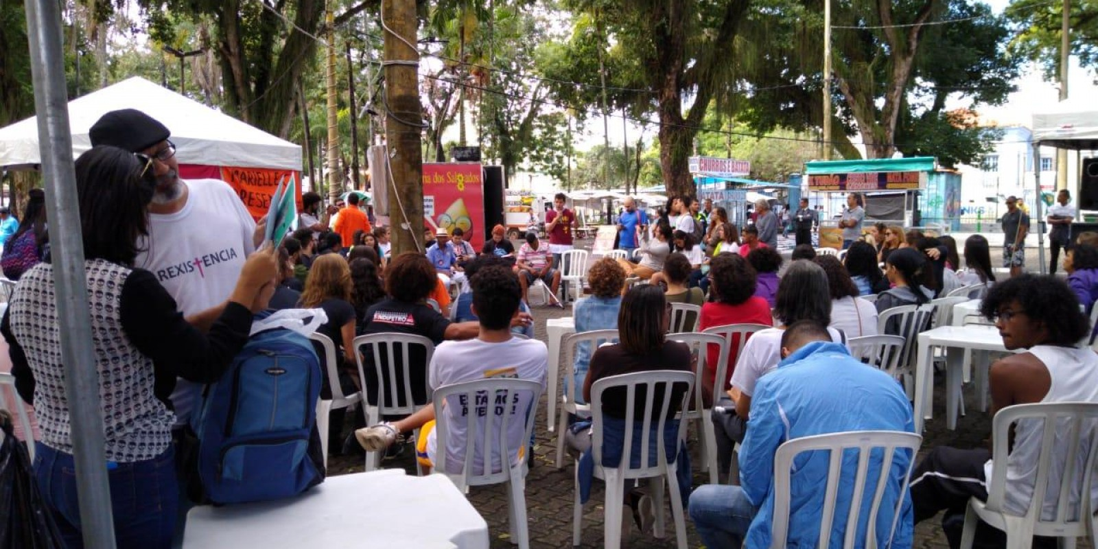 Movimento contra a Reforma da Previdência e contra os cortes na educação