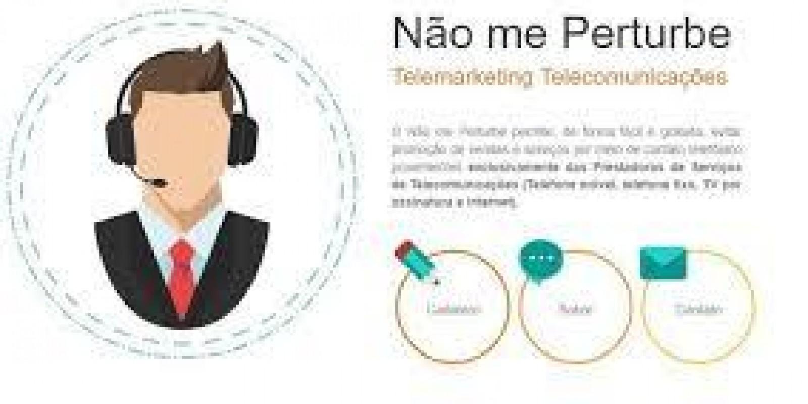 """Site """"Nâo me pertube"""" promete fim do telemarkting não autorizado"""