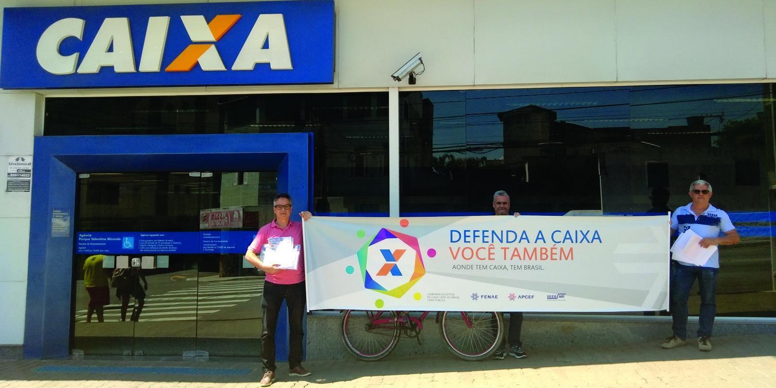 #DiadeLuta em defesa do Saúde Caixa nesta quarta (11)
