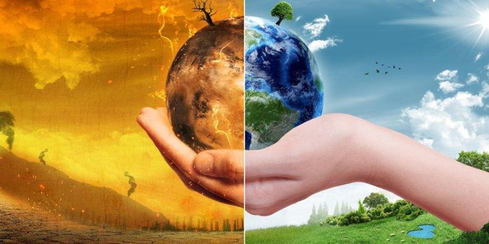 Trabalhadores de todo o mundo foram às ruas em defesa do clima ambiental