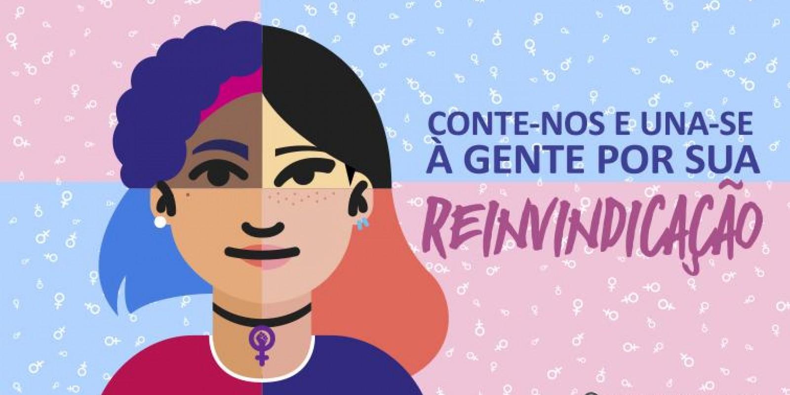 Pesquisa definirá pauta de luta para o Dia Internacional das Mulheres