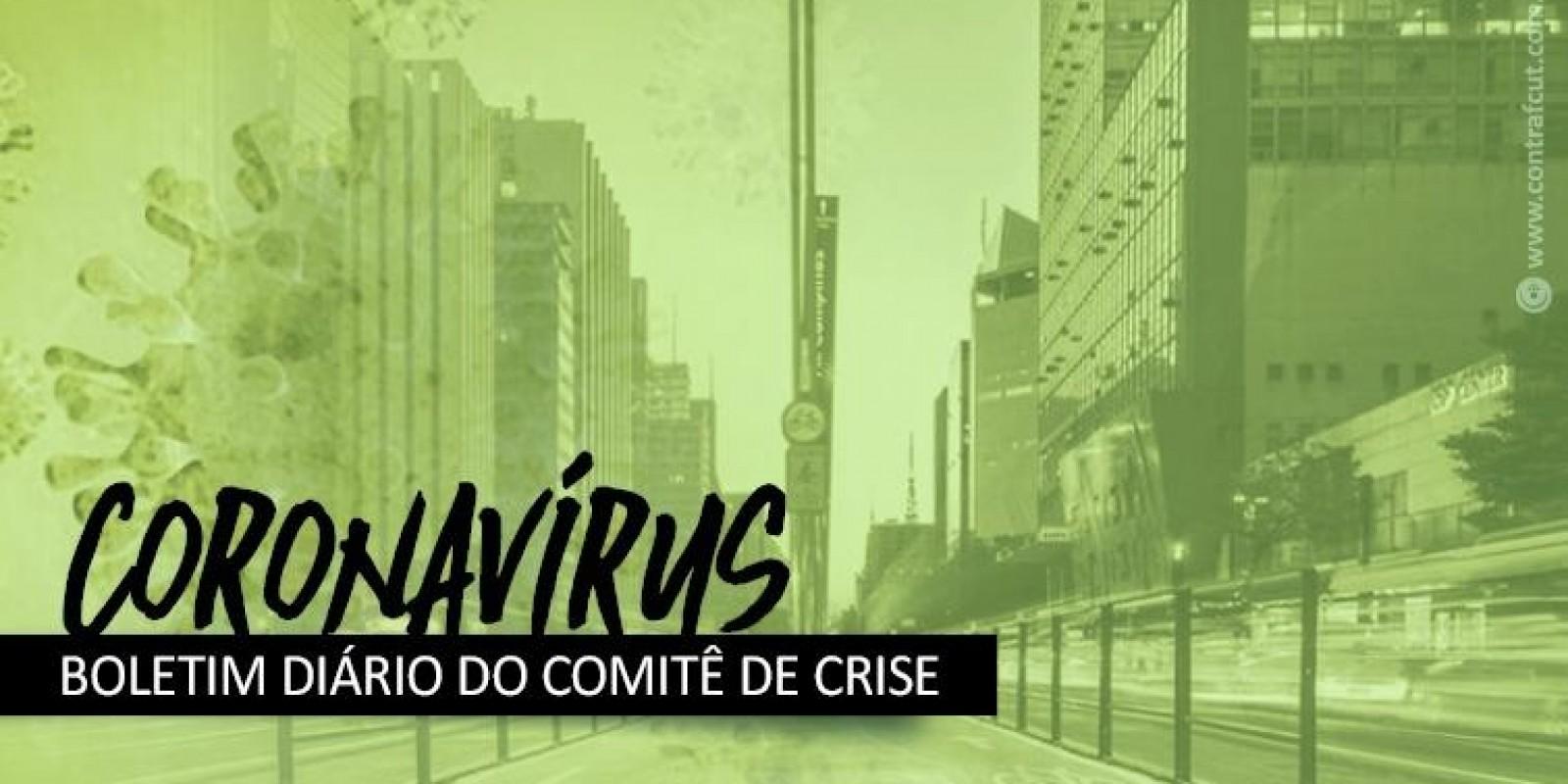 Contraf-CUT cobra das financeiras ações contra o coronavírus