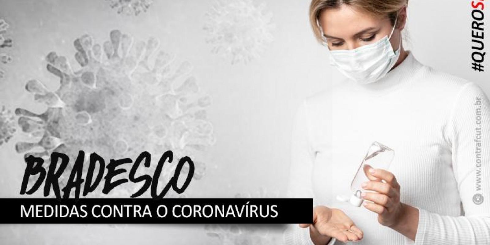Bradesco começa a distribuir máscaras de acrílicos e vacinas contra gripe