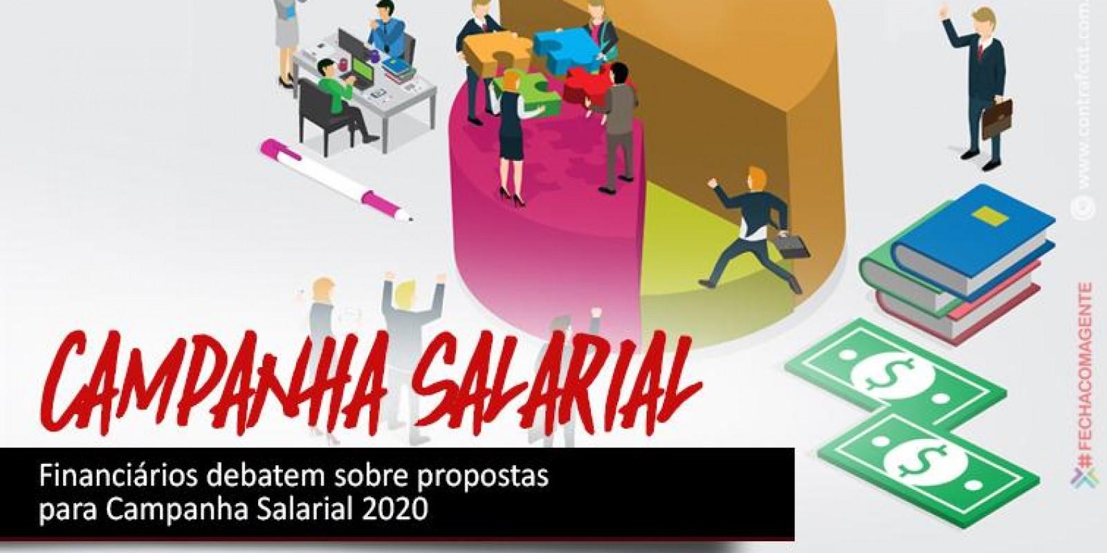 Financiários debatem sobre propostas para campanha salarial