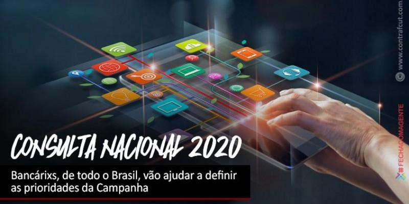 Bancários são chamados a contribuir na definição das prioridades da Campanha Nacional de 2020