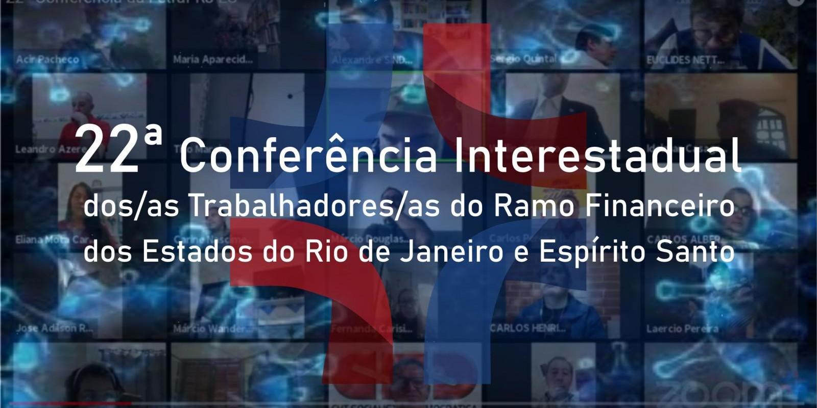 Conferência Interestadual dos bancários do Rio de Janeiro e Espírito Santo dá início a Campanha Nacional de 2020