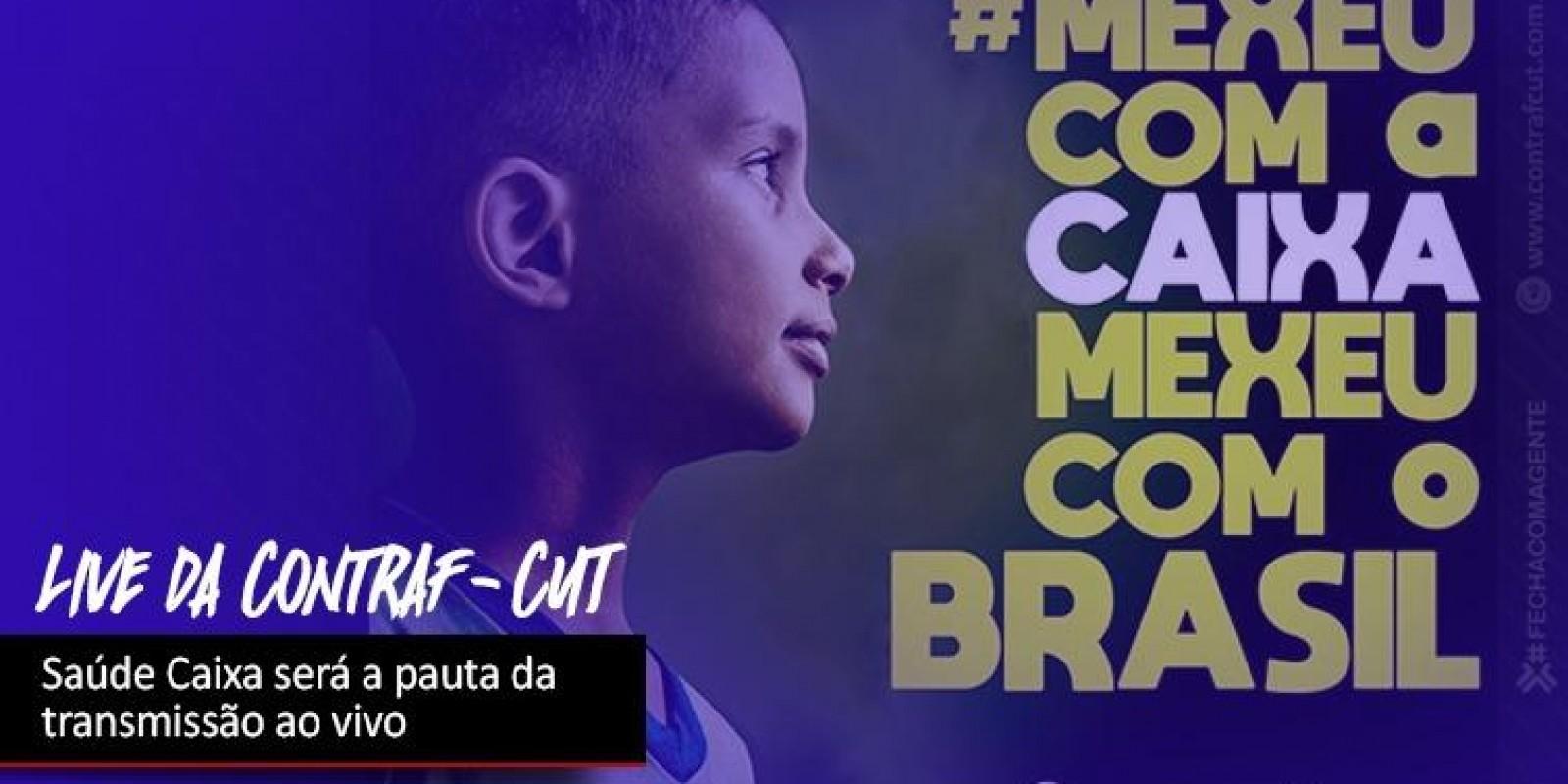 Contraf-CUT fará live sobre Saúde Caixa