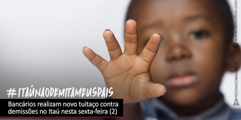 Bancários realizam tuitaço contra demissões no Itaú na sexta (2)