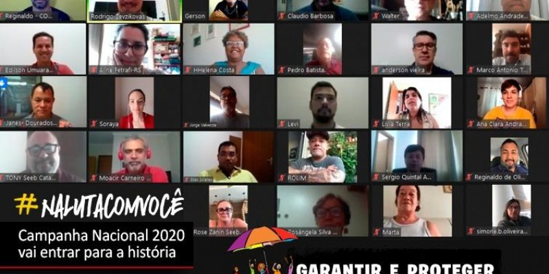 Coletivo Nacional de Comunicação avalia Campanha Nacional