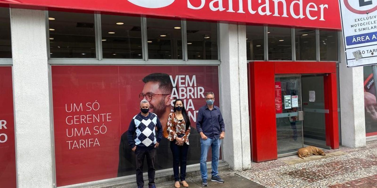 Santander, respeite o Brasil, suas leis e seu povo!