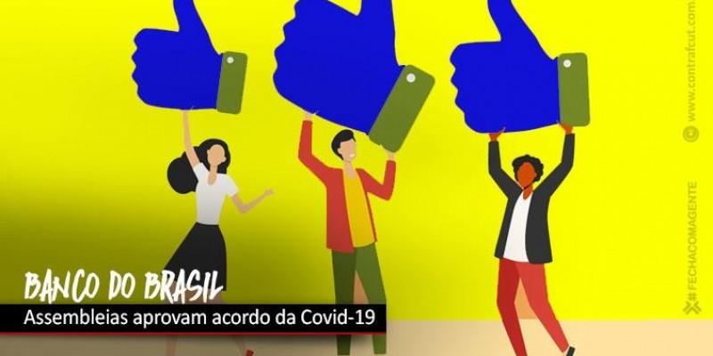 Bancários do BB aprovam acordo emergencial da Covid-19