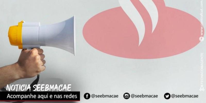 Santander assina acordo de teletrabalho na Espanha, mas recusa-se a negociar no Brasi