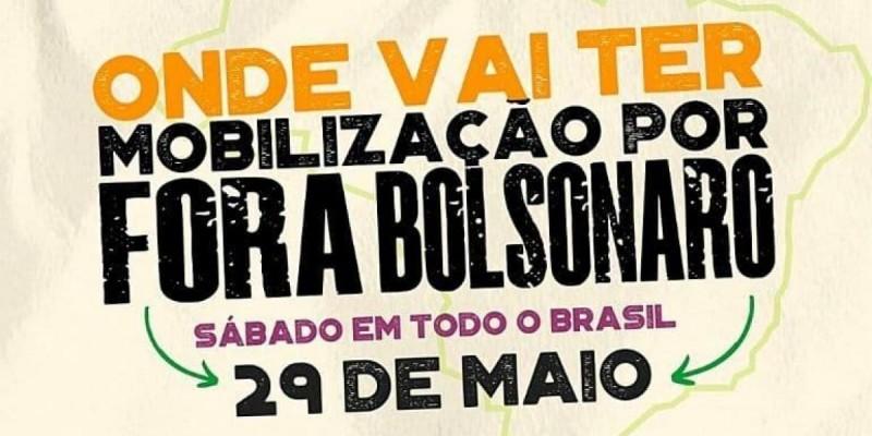 Atos acontecem neste sábado (29) em todo o Brasil solicitanto a troca do Presidente