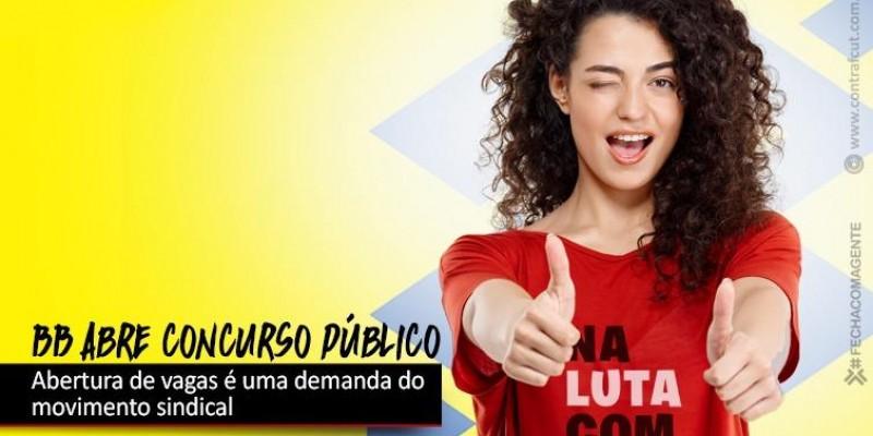 Banco do Brasil abre concurso público