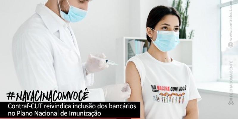 Contraf-CUT reivindica novamente inclusão dos bancários no PNI ao Ministério da Saúde