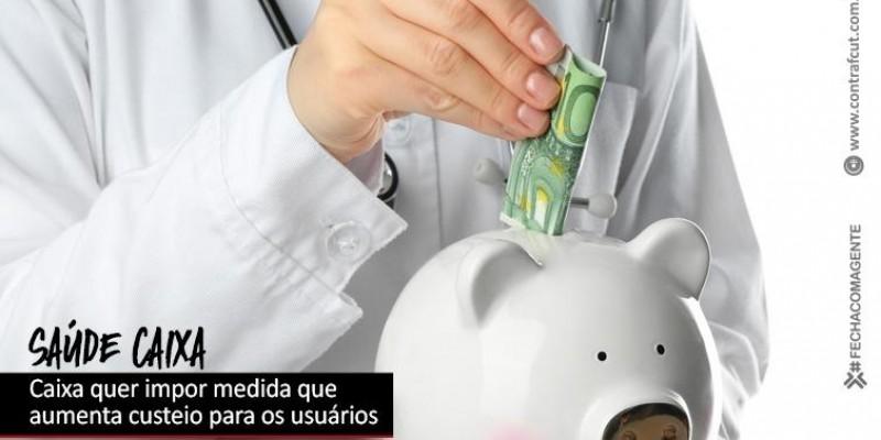 Gestão Pedro Guimarães quer impor medida que aumenta custeio do Saúde Caixa para os usuários