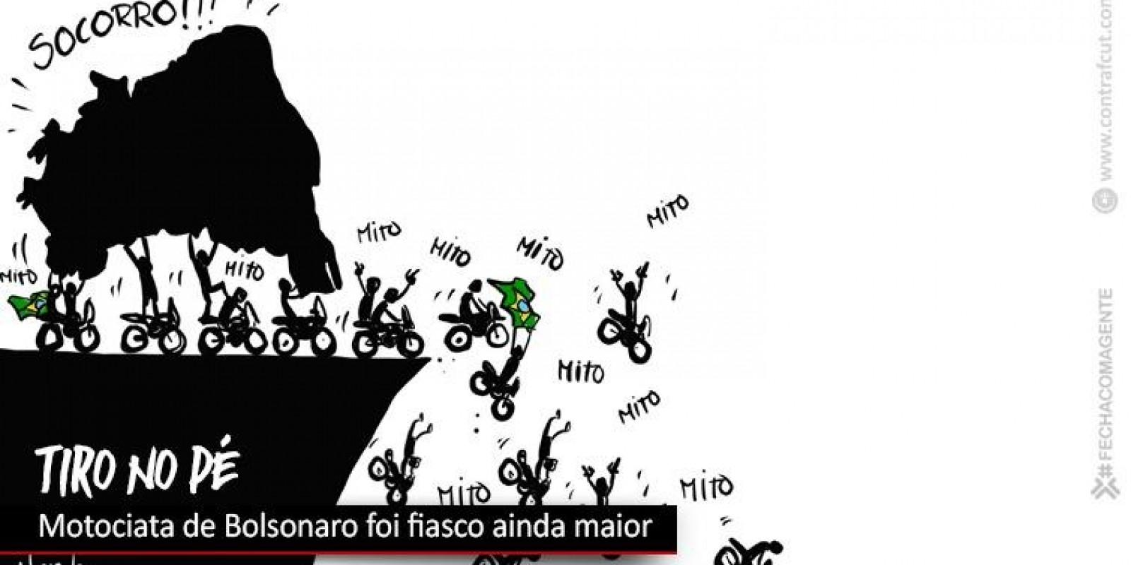 Motociata de Bolsonaro foi rejeitada por clubes de motos
