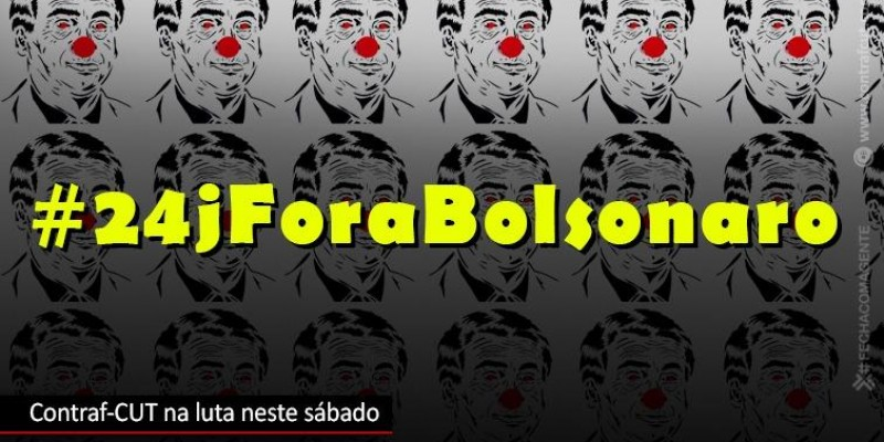 Contraf-CUT convoca categoria bancária para manifestações contra Bolsonaro