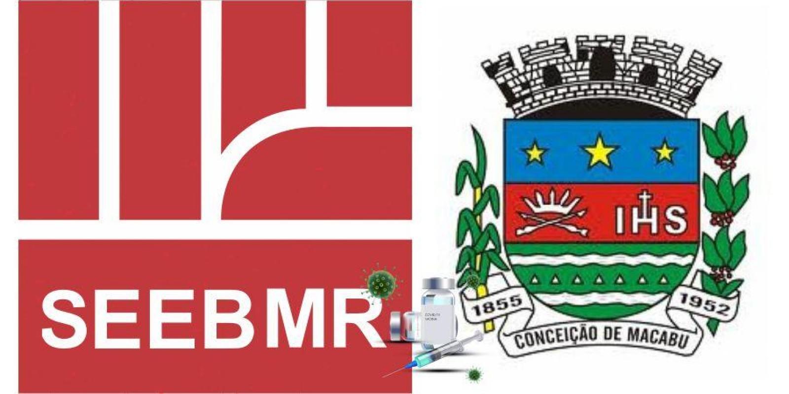 Ofício entregue ao prefeito de Conceição de Macabu Sr. Valmir Lessa pedindo vacina para os bancários (as).