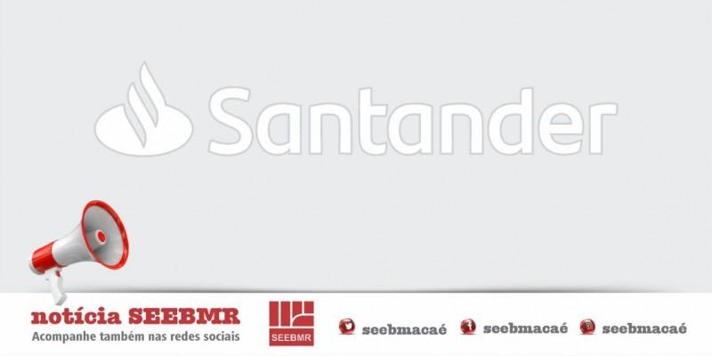 Bancários do Santander com horas negativas devem procurar seu sindicato