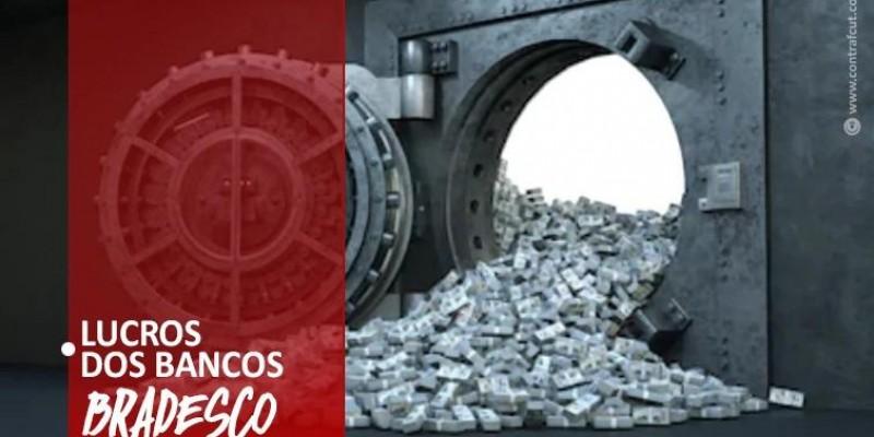 Bradesco lucra mais de 12 bi no primeiro semestre de 2021