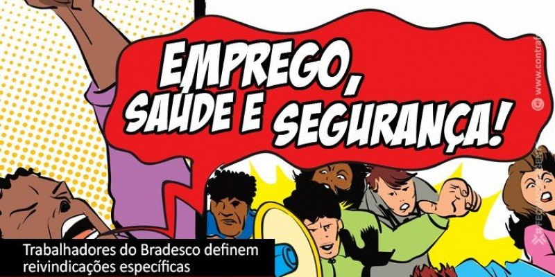 Encontro Nacional dos Trabalhadores do Bradesco formaliza pauta de reivindicações específica