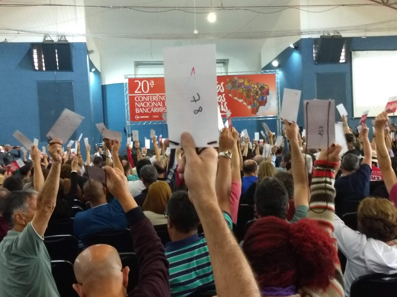 20ª CONFERÊNCIA NACIONAL DOS BANCÁRIOS
