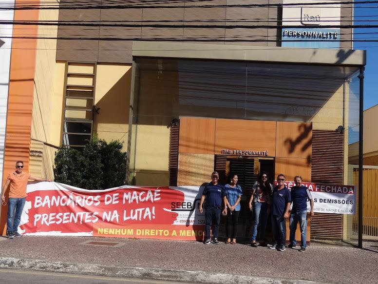 Crise econômica avança sobre atividade bancária em Macaé