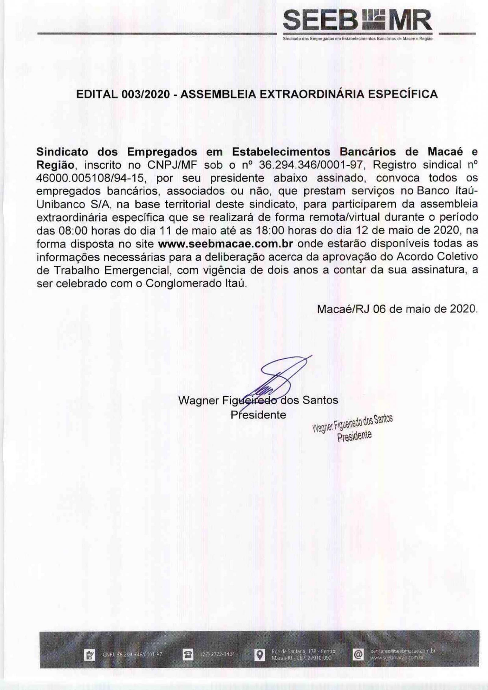 Bancários vão deliberar sobre o acordo com o Itaú Unibanco
