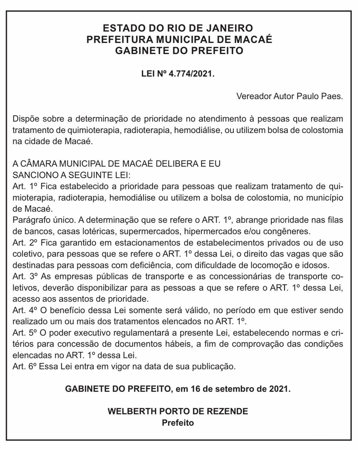 Doadores de Sangue e Medula, agora tem prioridade nos atendimentos na cidade de Macaé