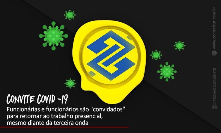 """Banco do Brasil """"convida"""" funcionários para o trabalho presencial"""